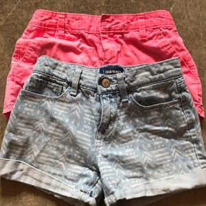 2 Old Navy shorts size 8